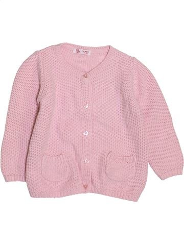 Chaleco niña DPAM rosa 12 meses invierno #1420556_1