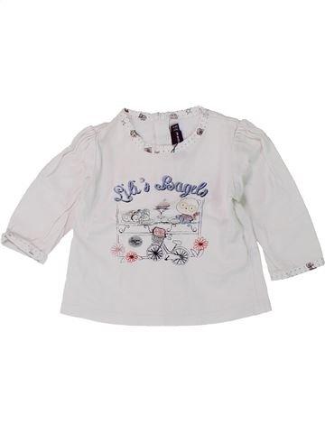 Camiseta de manga larga niña SERGENT MAJOR blanco 3 meses invierno #1420727_1