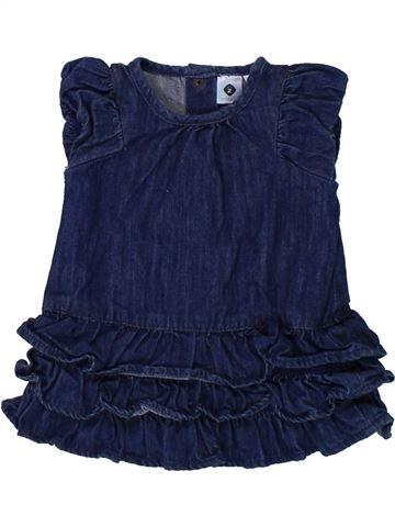 Robe fille GRAIN DE BLÉ bleu 3 mois hiver #1420755_1