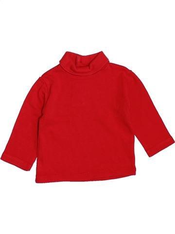 Camiseta de cuello alto niño DPAM rojo 3 meses invierno #1420801_1