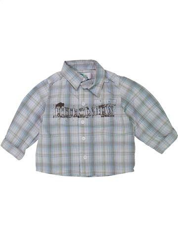Camisa de manga larga niño VERTBAUDET azul 18 meses invierno #1420812_1
