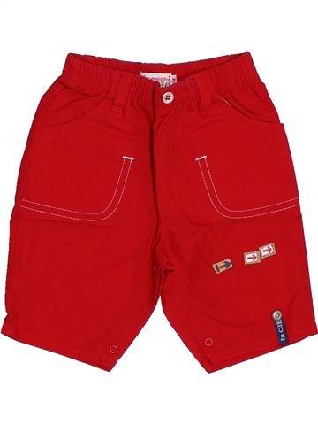 Pantalon garçon LA COMPAGNIE DES PETITS rouge 3 mois été #1420833_1