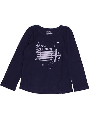 Camiseta de manga larga niña GAP azul 3 años invierno #1420924_1