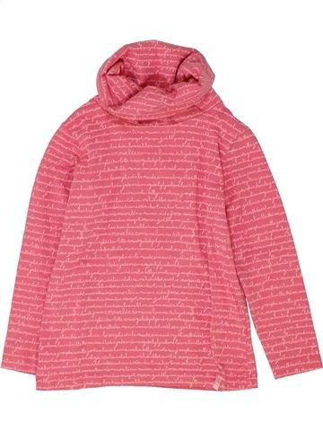 Camiseta de cuello alto niña DPAM rosa 4 años invierno #1420962_1