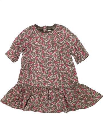 Vestido niña VERTBAUDET marrón 6 años invierno #1421046_1