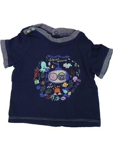 T-shirt manches courtes garçon SERGENT MAJOR bleu 3 mois été #1421138_1