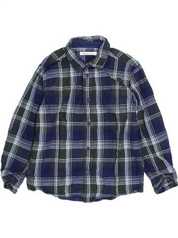 Chemise manches longues garçon MONOPRIX bleu 5 ans hiver #1421226_1