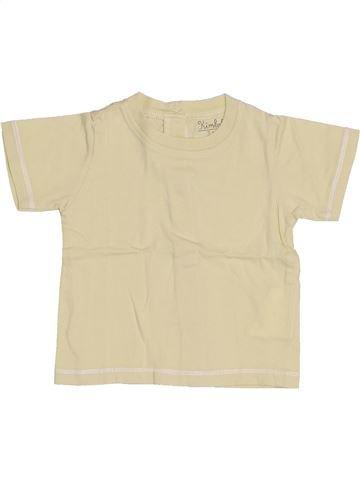 Camiseta de manga corta niño KIMBALOO beige 3 meses verano #1421283_1