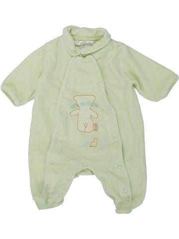 Pijama de 1 pieza niño KIABI gris 1 mes invierno #1421346_1