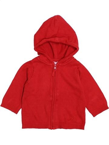 Gilet garçon DPAM rouge 6 mois hiver #1421495_1