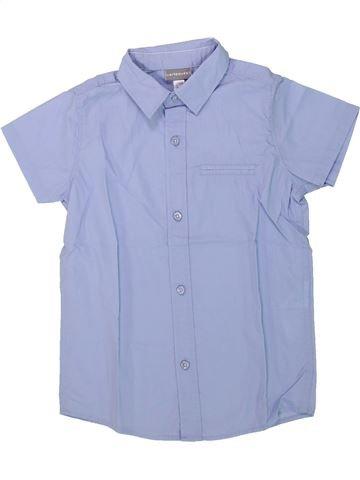 Camisa de manga corta niño VERTBAUDET violeta 4 años verano #1421499_1