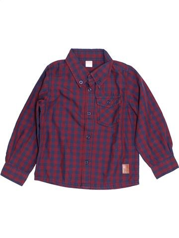 Camisa de manga larga niño NAME IT violeta 3 años invierno #1421601_1