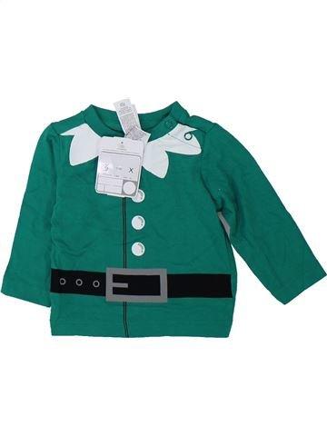 Camiseta de manga larga niño C&A verde 3 meses invierno #1421833_1