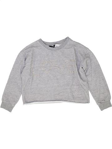 Sweat fille NEW LOOK gris 13 ans hiver #1421982_1
