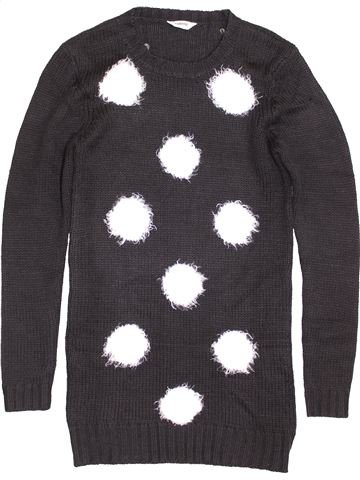 Pull fille TAMMY marron 16 ans hiver #1422446_1