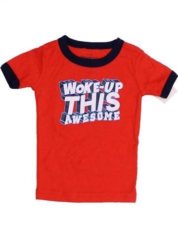 T-shirt manches courtes garçon OSH KOCH B'GOSH rouge 6 mois été #1422502_1