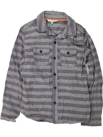 Camisa de manga larga niño JOHN LEWIS gris 9 años invierno #1422975_1