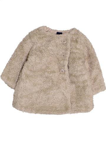 Abrigo niña GAP beige 12 meses invierno #1423085_1