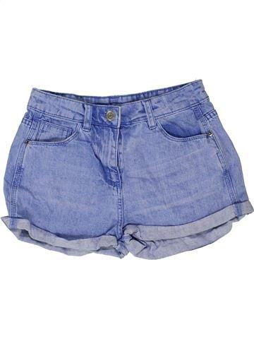 Short - Bermuda fille CANDY COUTURE bleu 13 ans été #1423323_1