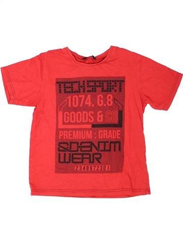 Camiseta de manga corta niño GEORGE rojo 10 años verano #1423420_1