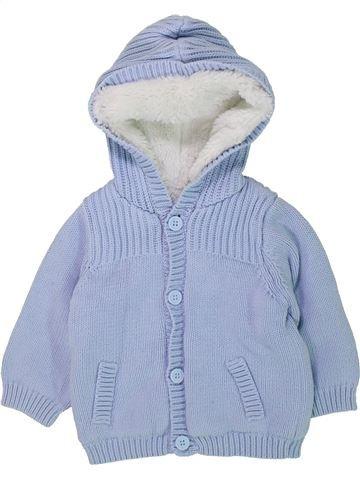 Chaqueta niño SANS MARQUE azul 6 meses invierno #1423509_1