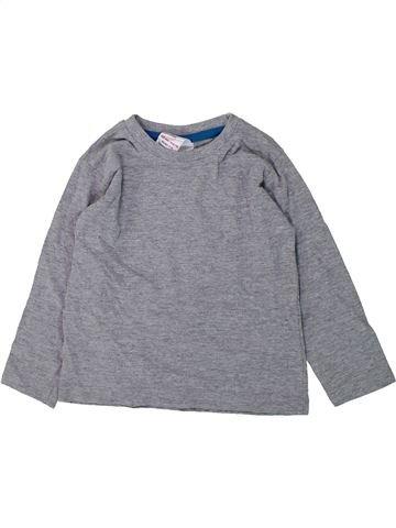 T-shirt manches longues garçon URBAN RASCALS gris 2 ans hiver #1423640_1