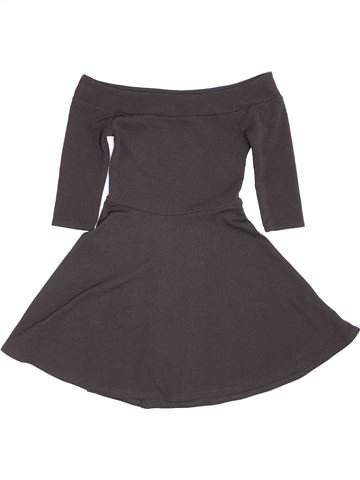 Robe fille NEW LOOK gris 11 ans hiver #1423654_1