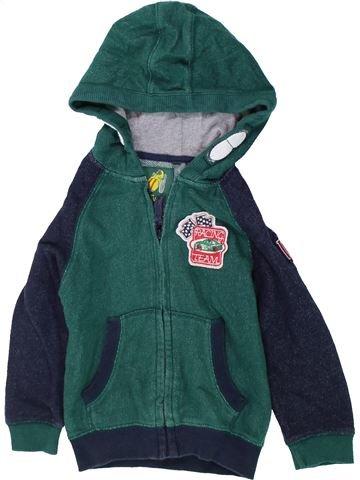 Sudadera niño TU verde 2 años invierno #1423842_1