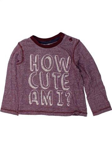 Camiseta de manga larga niño F&F gris 12 meses invierno #1423891_1