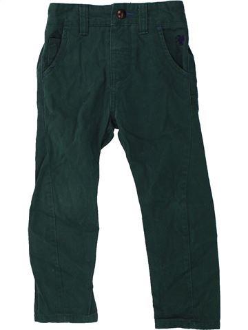 Pantalón niño NEXT verde 3 años invierno #1423894_1