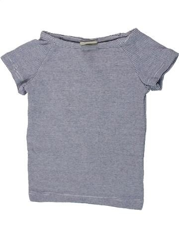 Camiseta de manga corta niña ZARA gris 5 años verano #1423926_1