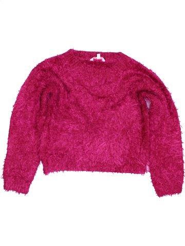Pull fille MISS E-VIE violet 10 ans hiver #1423945_1
