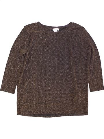 T-shirt manches longues fille RIVER ISLAND violet 10 ans hiver #1424155_1