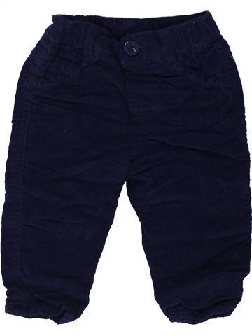 Pantalón niño GEORGE negro 6 meses invierno #1424164_1
