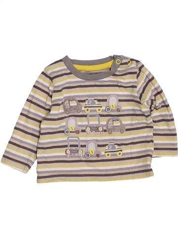 Camiseta de manga larga niño TU beige 3 meses invierno #1424225_1