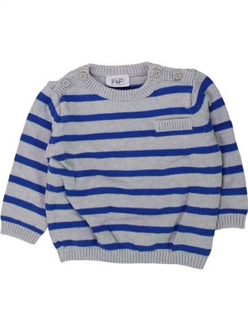 jersey niño F&F azul 6 meses invierno #1424247_1
