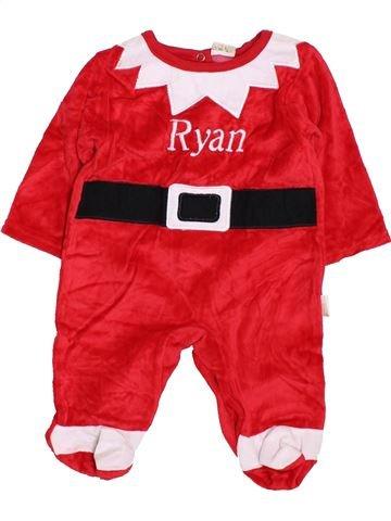 Pijama de 1 pieza niño SERGENT MAJOR rojo 1 mes invierno #1424272_1