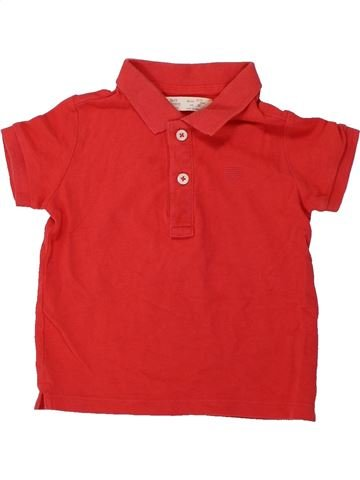 Polo manches courtes garçon ZARA rouge 3 ans été #1424461_1