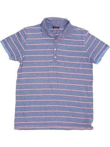 Polo manches courtes garçon NEXT gris 11 ans été #1424809_1