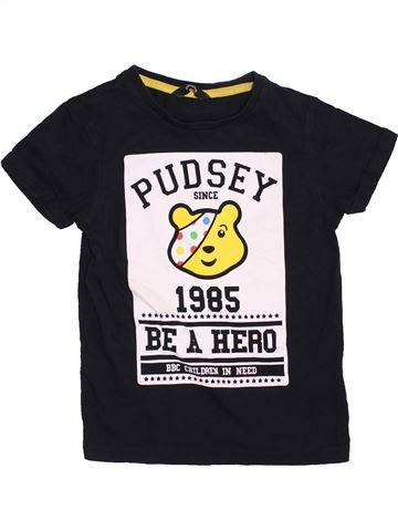 Camiseta de manga corta niño GEORGE blanco 6 años verano #1424823_1