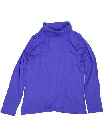 Camiseta de cuello alto niña LUPILU violeta 7 años invierno #1425204_1
