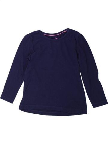 Camiseta de manga larga niña LUPILU azul 4 años invierno #1425264_1
