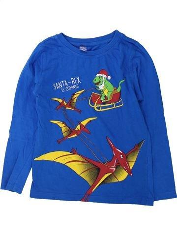 T-shirt manches longues garçon DOPODOPO bleu 8 ans hiver #1425312_1