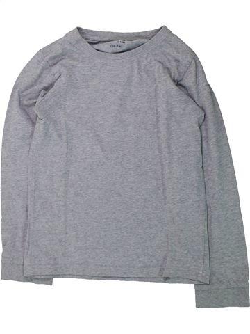 T-shirt manches longues garçon TCHIBO gris 10 ans hiver #1425348_1
