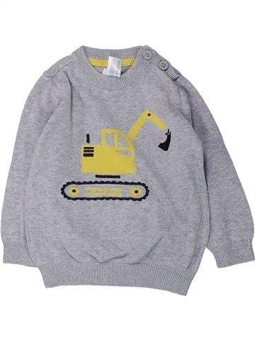 Pull garçon C&A gris 18 mois hiver #1425350_1