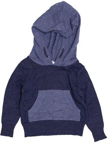 jersey niño IMPIDIMPI azul 18 meses invierno #1425415_1