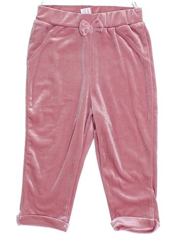 Pantalon fille C&A rose 2 ans hiver #1425541_1