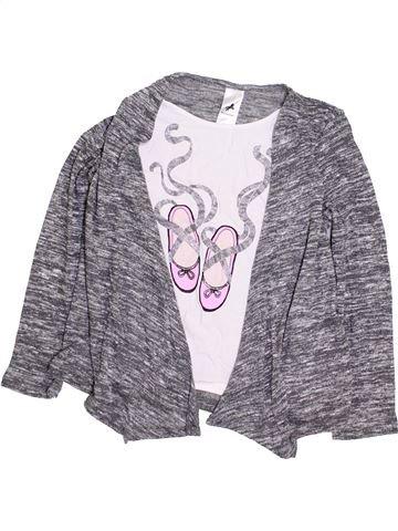 T-shirt manches longues fille C&A gris 9 ans hiver #1425777_1