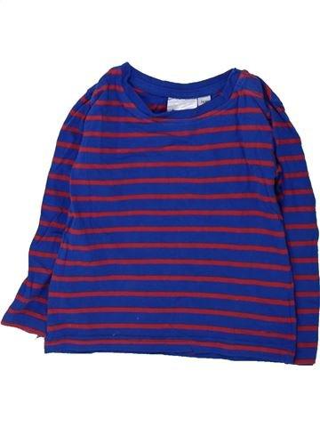 Camiseta de manga larga niño IMPIDIMPI violeta 18 meses invierno #1425943_1