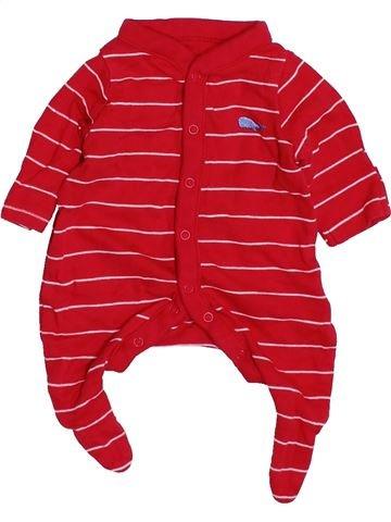 Pyjama 1 pièce unisexe MOTHERCARE rouge prématuré été #1426790_1